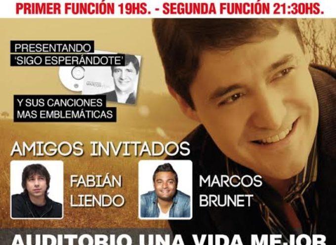 Marcos Vidal junto a su banda dará un concierto único en Buenos Aires