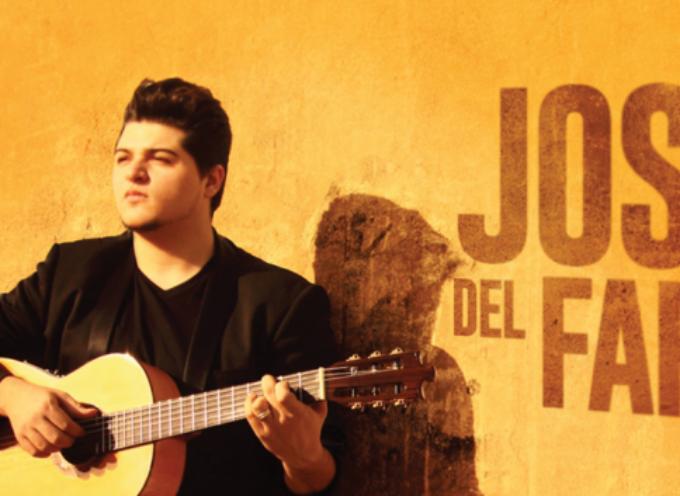 "José del Faro a ritmo flamenco canta ""Eres mi Padre"""