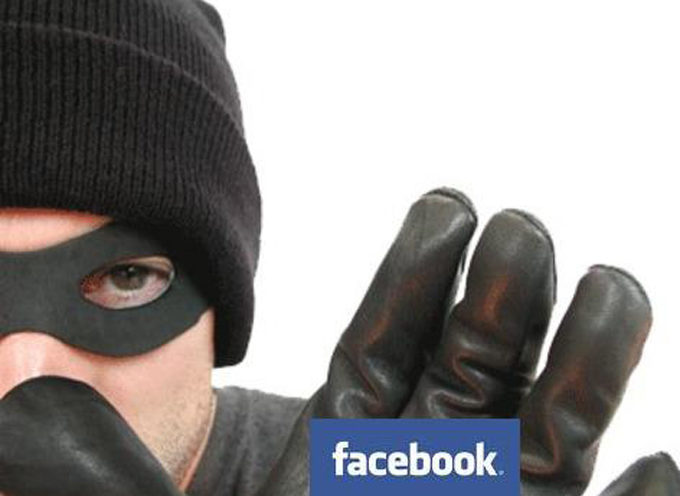 Ladron dejó abierta su cuenta de Facebook en la casa donde robó