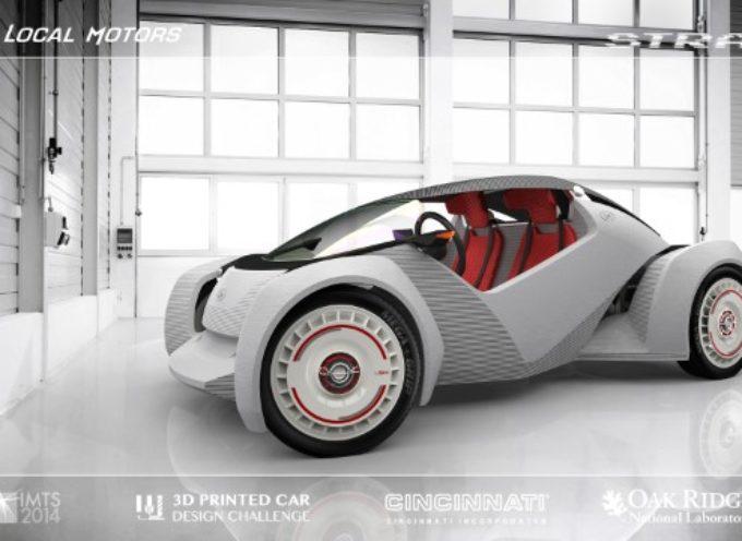 Strati: el auto impreso en 3D