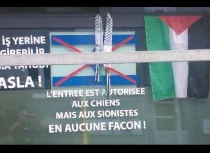 Cartel en bar belga: 'Permitida entrada a perros, no a judíos'