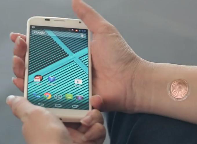 """Un """"tatuaje digital"""" para desbloquear el smartphone"""