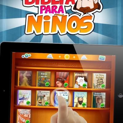 Saldra en español la biblia App para niños