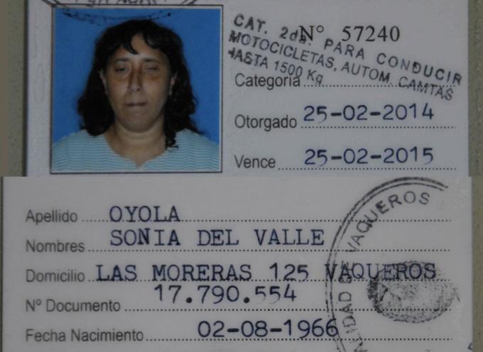 Mujer ciega obtiene licencia de conducir