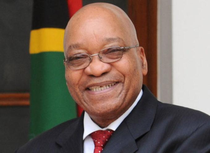 Ponen a la venta al presidente de Sudáfrica en Internet