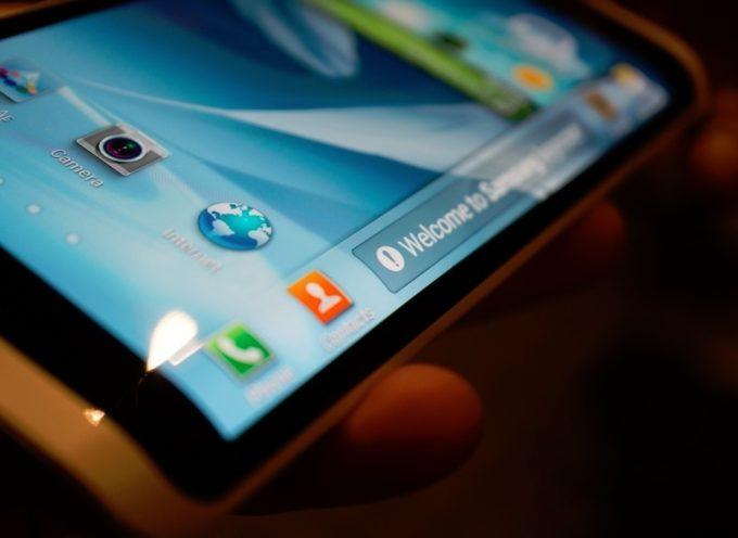 Samsung sorprendio con un Galaxy Note con pantalla curva