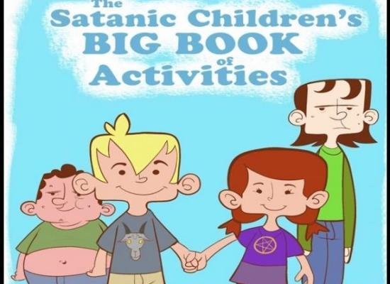 Pretenden distribuir libros satánicos para niños en escuelas