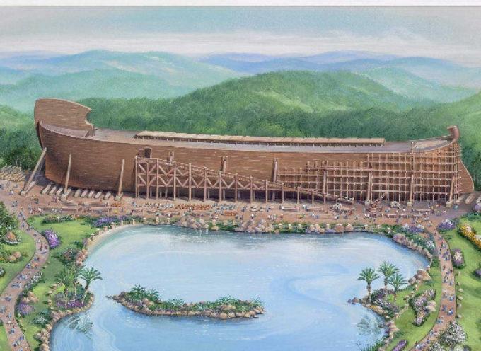 Construcción Arca de Noé amenazada por contratar empleados que crean en la Biblia