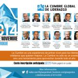 En noviembre se realizará una nueva Cumbre Global de Liderazgo en Adrogué