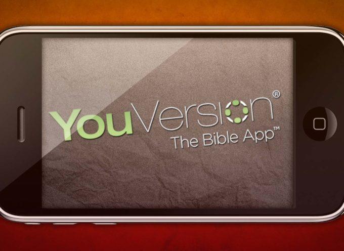 Aplicación bíblica YouVersion ofrece más de mil versiones