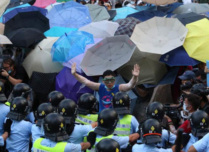 Un pastor bautista en las manifestaciones en Hong Kong