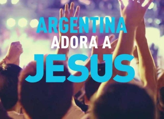 "Marcos Brunet realizará ""Argentina Adora a Jesús"""
