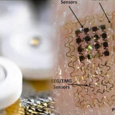 Crean computadora del tamaño de un chip que se usa en la piel