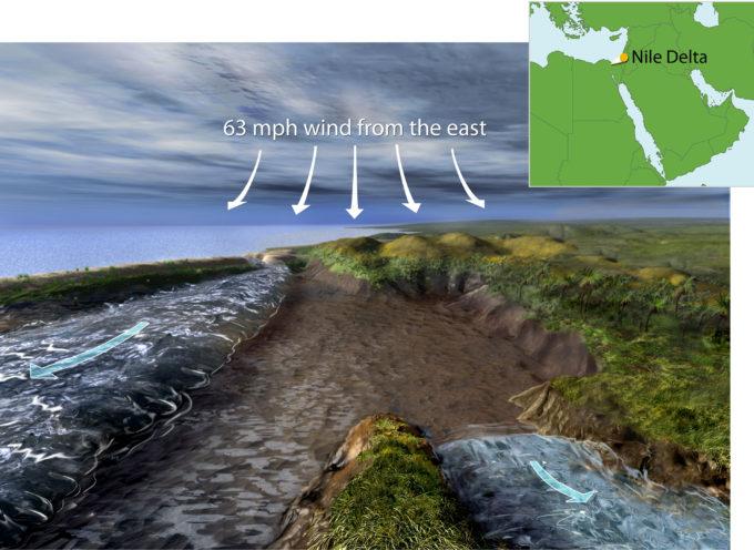 Explicación científica revela cómo Dios dividió el Mar Rojo