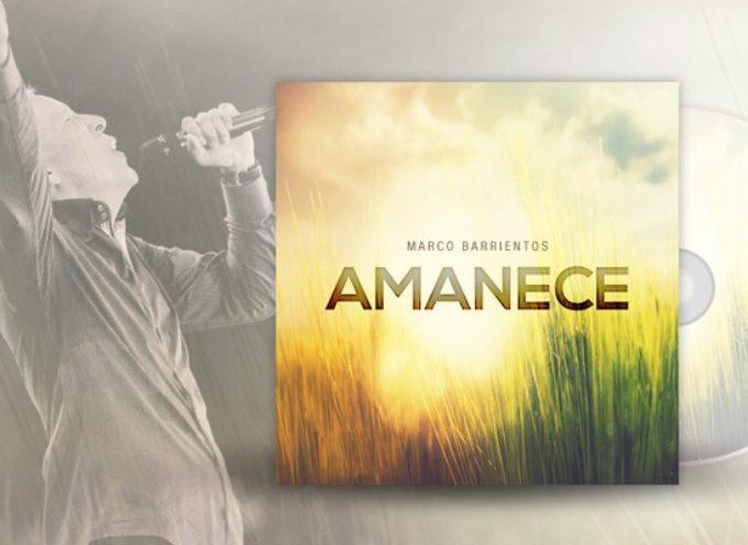 """Marco Barrientos presenta su nuevo disco""""Amanece"""""""