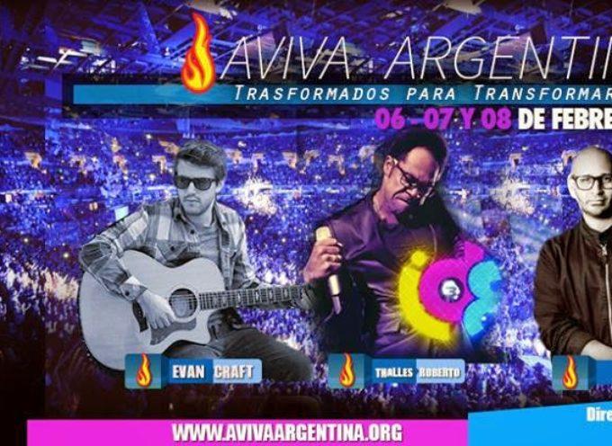 Thalles Roberto, Evan Craft, Doctor P y En tu Presencia en Aviva Argentina