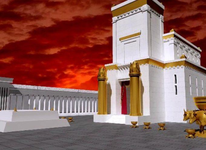 El altar del sacrificio del Tercer Templo está listo