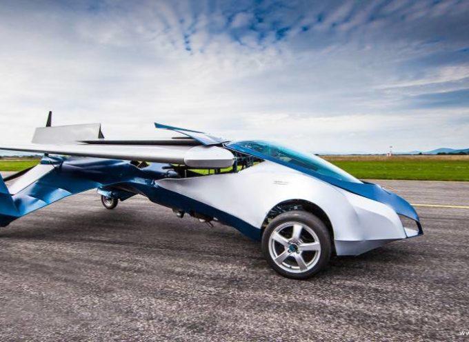 Automóvil volador saldrá al mercado en 2017