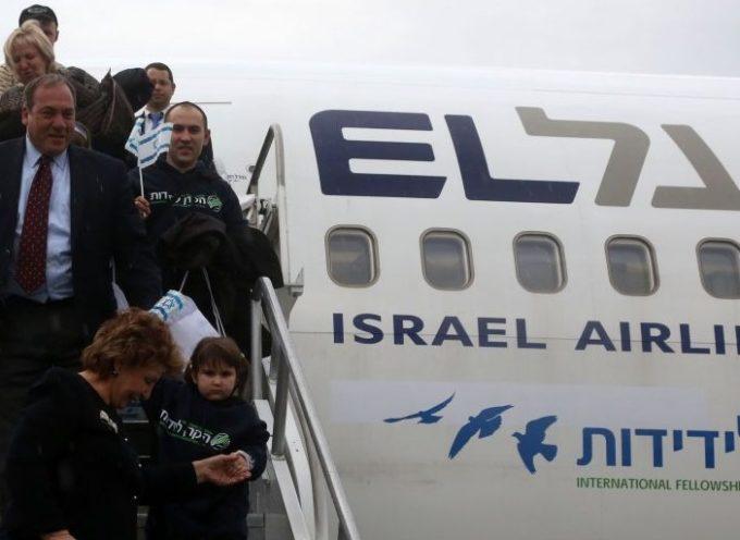 Llegan a Israel Judíos que huyen de la Guerra en Ucrania