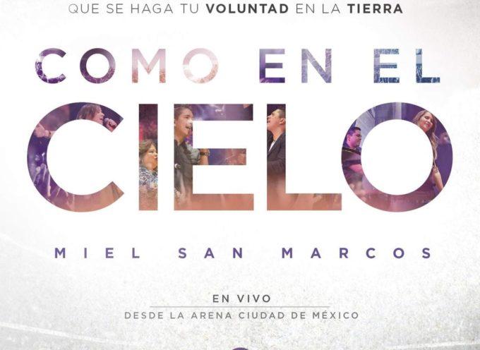 Miel San Marcos debutó #1 en iTunes latino con su Álbum Como en el Cielo