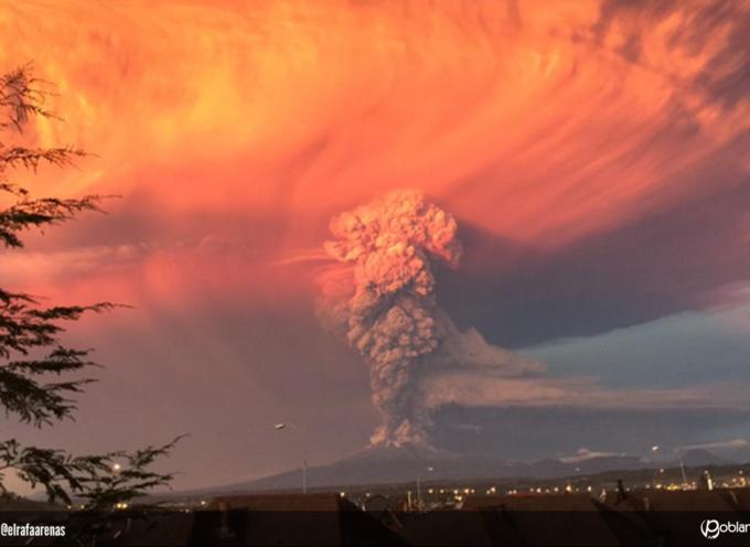 Devastadora erupción del volcán Calbuco alerta a todo Chile