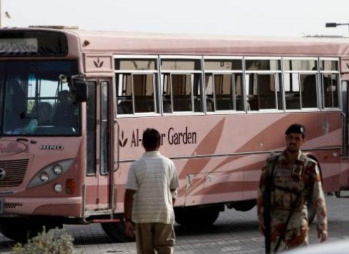 """Estado Islámico da gloria a Alá por matar a """"43 apóstatas"""" en un autobús"""