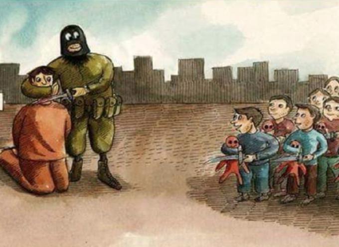 El estado Islámico enseña en las escuelas como matar cristianos