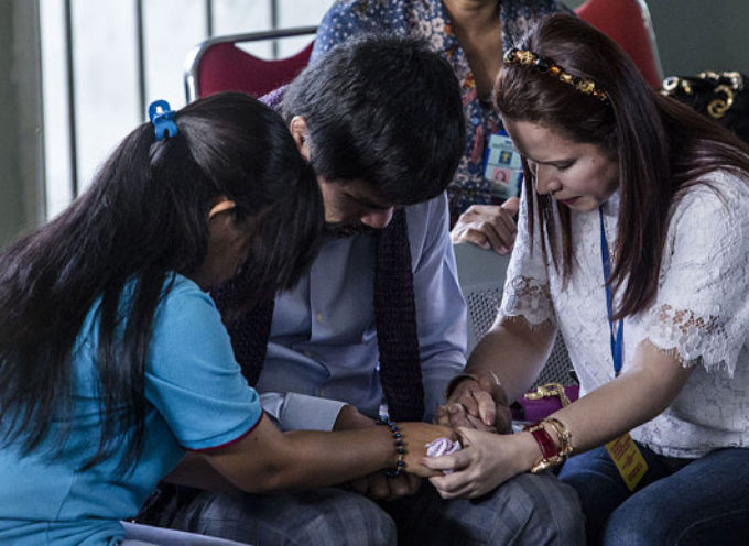 Manny Pacquiao va orar a Indonesia por compatriota que enfrenta pena de muerte