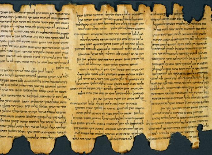 Arqueologos descifran el más antiguo texto bíblico de los Rollos del Mar Muerto