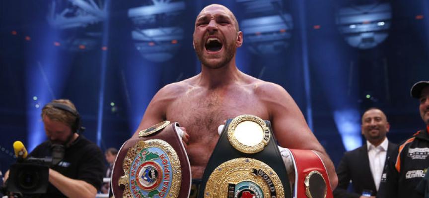 """Boxeador británico Tyson Fury: """"Fue sólo por el poder de Jesús que gané esta pelea"""""""