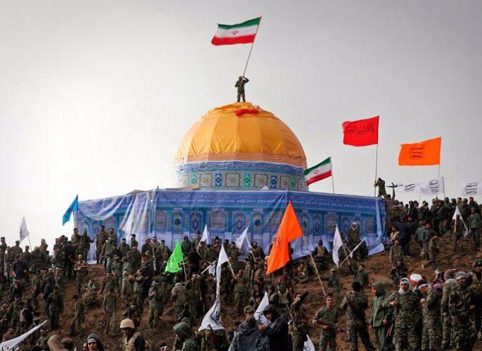 Ejército de Irán entrena para la conquista de Jerusalén