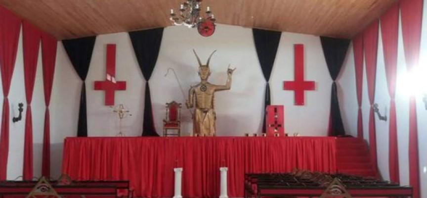 Preocupacion en Colombia por construccion de iglesia satanica