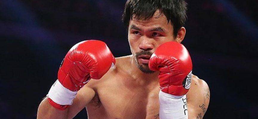 Boxeador Manny Pacquiao cuelga sus guantes para servir a Dios