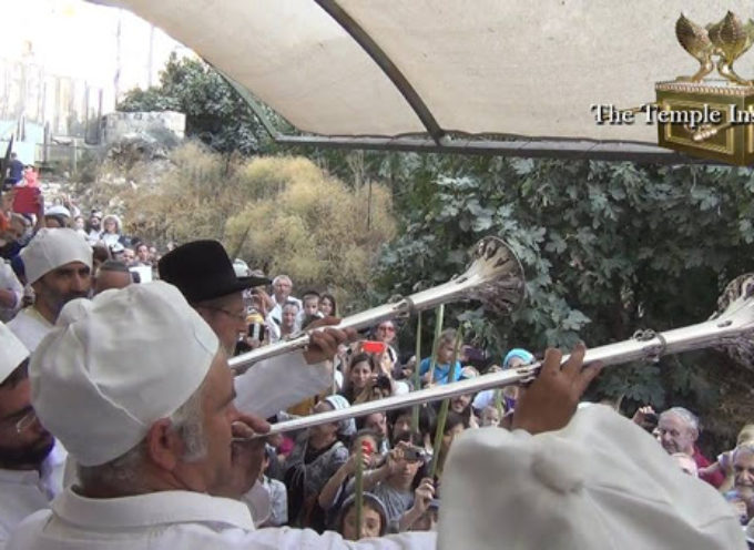 Sacerdotes judíos ensayan cómo adorarán en Tercer Templo