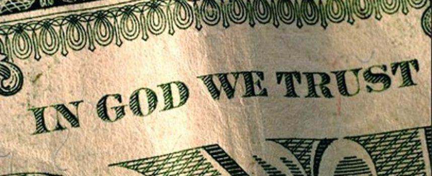 """EE.UU. Ateos introducen demanda para eliminar la frase del dólar """"In God We Trust"""""""