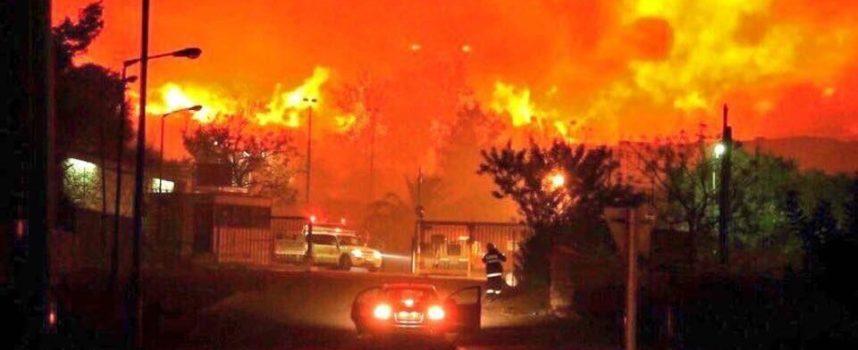 Continúan los incendios provocados en Israel