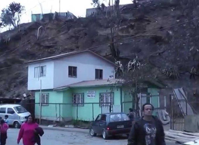 Milagrosamente templo evangélico es guardado del incendio en Chile