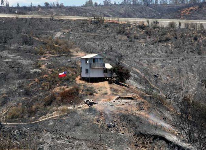 Milagro en Chile: De 500 casas quemadas, un hogar evangélico sobrevive a la tragedia