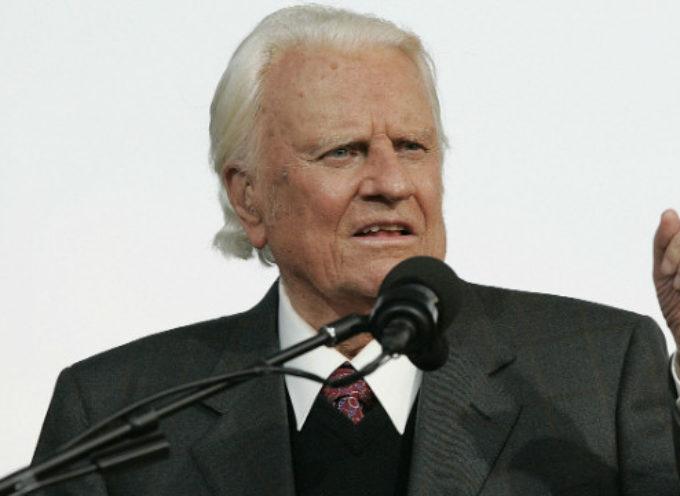 """Billy Graham habló de """"El mayor cristiano que jamás haya existido"""""""