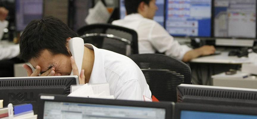 Insolito: la nueva moda en Japón, apuñalarse para no tener que trabajar