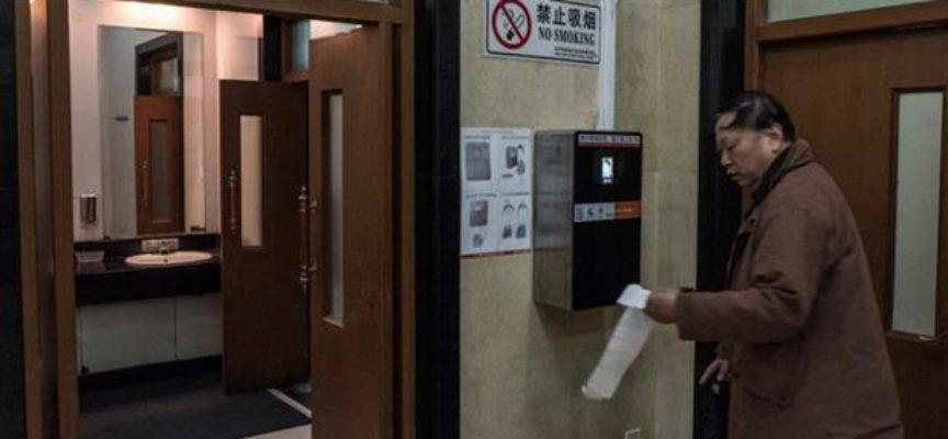 Insolito: China implementa sistemas de reconocimiento facial para evitar el robo de papel higiénico