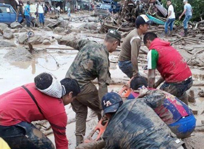 Desbordamiento de río en Colombia deja más de 200 muertos