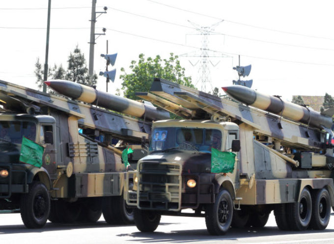 "Irán realiza desfile militar donde promueve la ""muerte de Israel"""