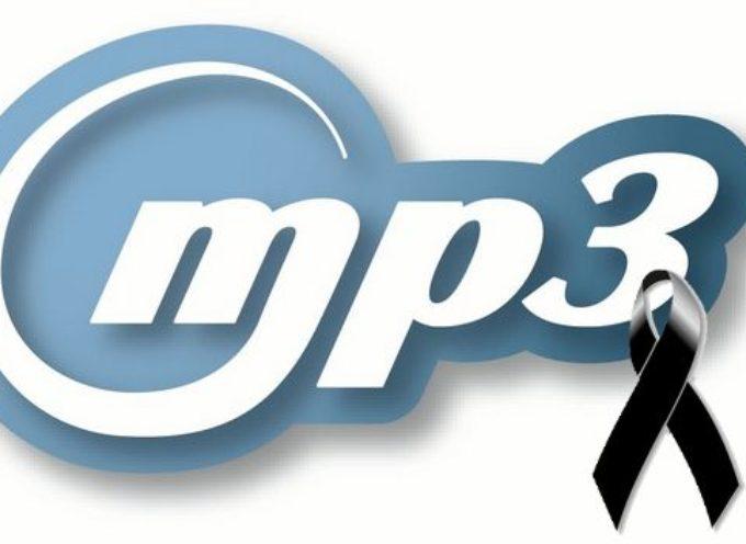 Anuncian que el formato MP3 oficialmente ha muerto