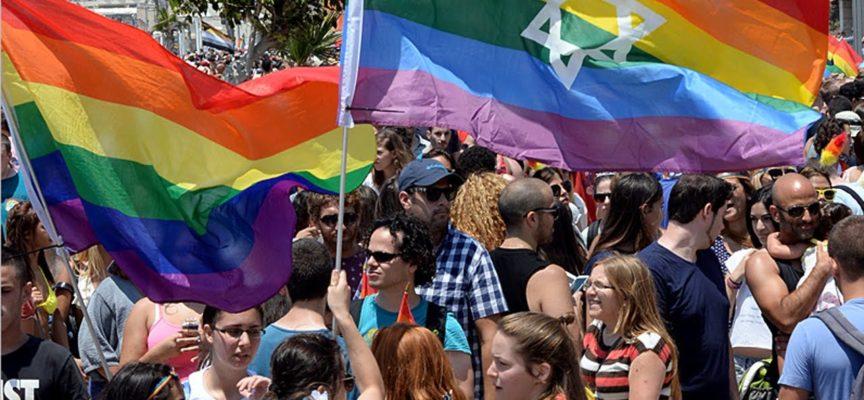 Miles de homosexuales desfilan en la ciudad de Tel Aviv