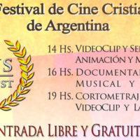 """Jesús Cine Fest"", el Primer Festival de Cine Cristiano Independiente de la Argentina"