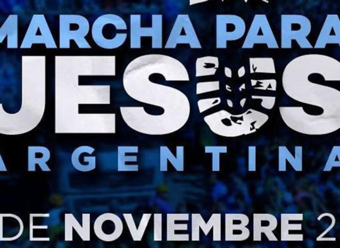 Marcha para Jesús en Buenos Aires