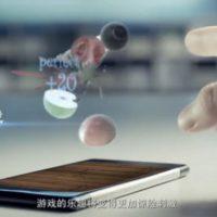 Cómo es el nuevo smartphone con pantalla holográfica