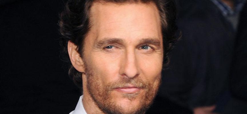 Ser padre llevó al actor de Hollywood Matthew McConaughey, a los brazos de Dios