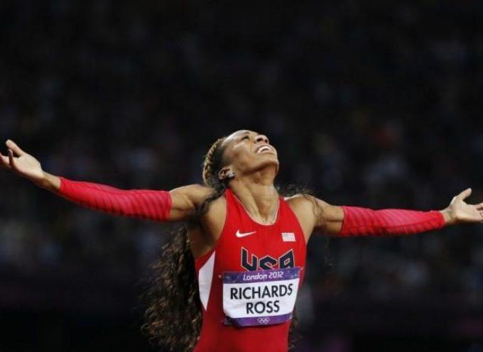 """Campeona olímpica: """"Hay algo mas importante que ganar oro, es glorificar a Dios"""""""